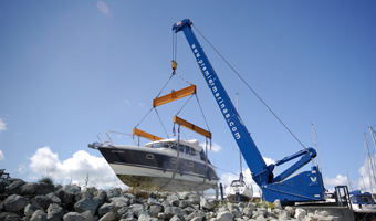 First class facilities at Gosport Marina Boatyard