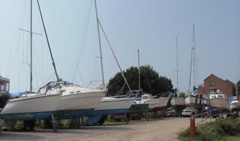 Southsea Marina Boatyard
