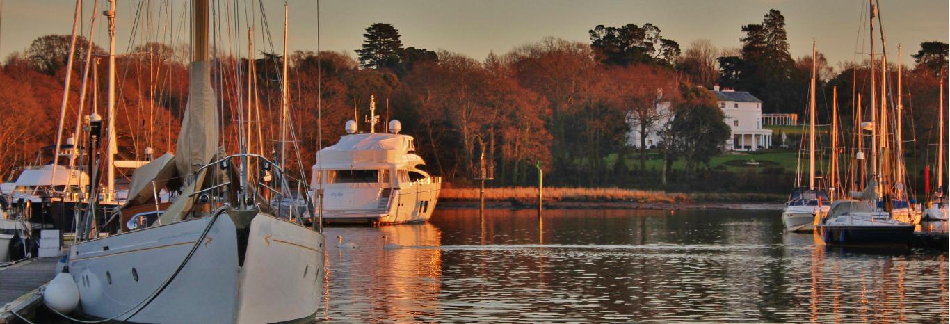 Swanwick Marina on the River Hamble