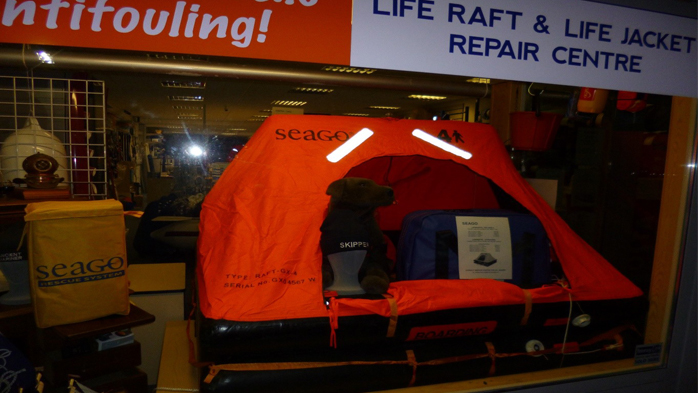 Nickys Canvasworks Life Safety Raft
