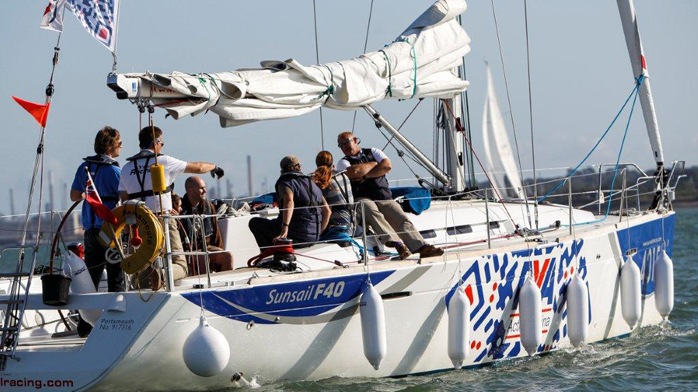 RYA active event sailing